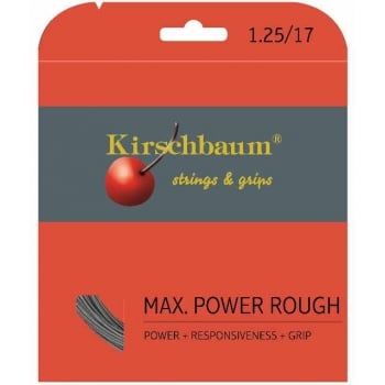 ASHAWAY Kirschbaum Max Power Rough (1.30mm) Tennis String 12m Set