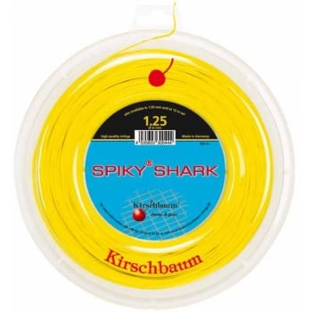ASHAWAY Kirschbaum Spiky Shark (1.30mm) Tennis String 200m Reel