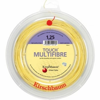 ASHAWAY Kirschbaum Touch Multi Fibre (1.30mm) Tennis String 200m Reel