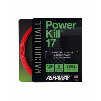 ASHAWAY Powerkill 17 (1.25mm) Racquetball String 12m