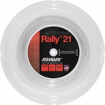 ASHAWAY Rally 21 (0.75mm) Badminton String 200m Reel