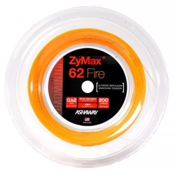 ASHAWAY ZyMax 62 Fire 0.62mm x 200m Orange