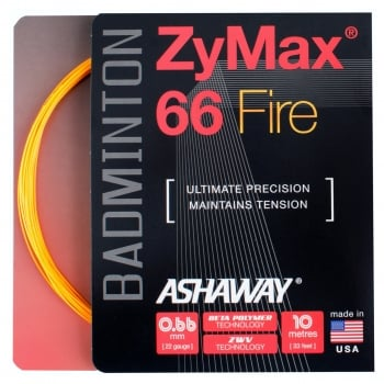 ASHAWAY ZyMax 66 Fire 0.66mm x 200m Orange