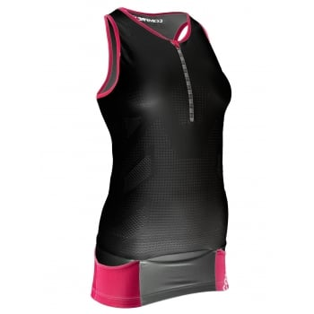 Compressport Pro Racing Triathlon TR3 Tank Top for Ladies