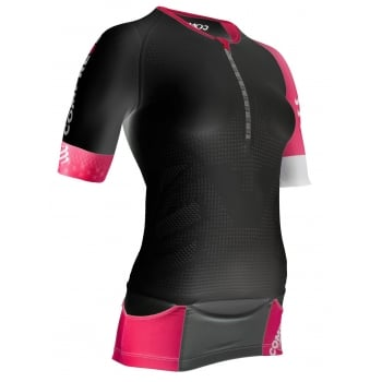 Compressport TR3 Aero Top Black for Ladies