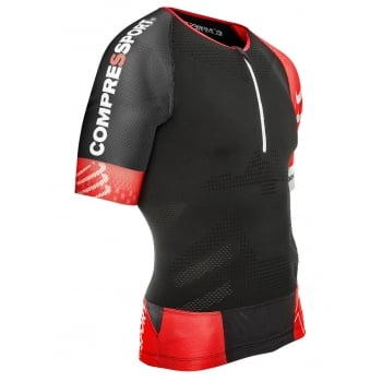 Compressport TR3 Aero Top Black
