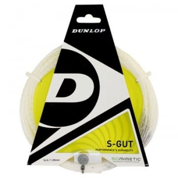 DUNLOP S-Gut 16 - Black or White