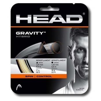 HEAD Gravity 17/1.25mm Grey - 18/1.20mm White