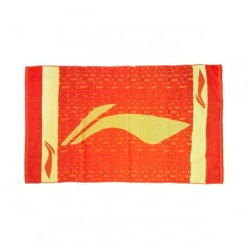 LI-NING - China National Badminton Team Bath Towel - Badminton Accessories