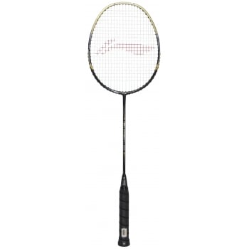 LI-NING High Carbon 1800 Badminton Racket (Black)