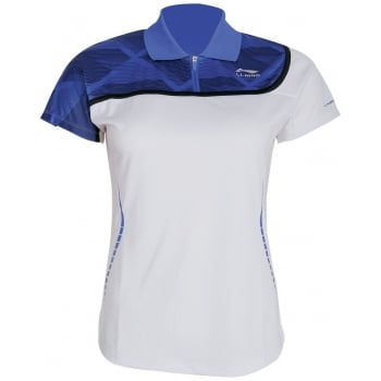 LI-NING Ladies Polo Shirt White