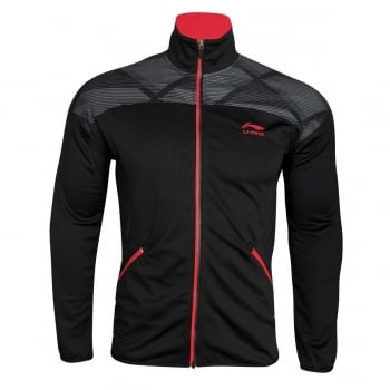LI-NING Tracksuit Top Mens Black