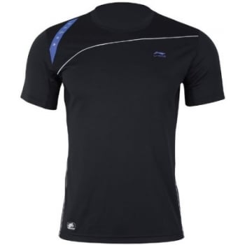 LI-NING Mens Competition Top (Black)