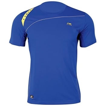 LI-NING Mens Competition Top (Blue)