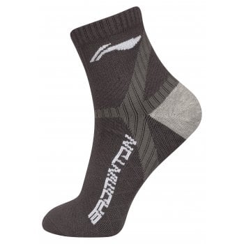LI-NING Socks Men Black Winglets