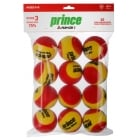 PRINCE - Play+Stay - Stage 3 (Age 5-8 years) - 12 pack Mini Tennis Balls