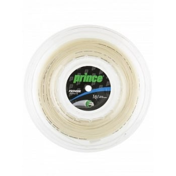 PRINCE - PREMIER CONTROL 16 - Natural/ Black Tennis String Reels