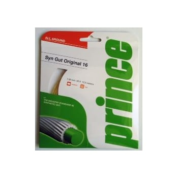 PRINCE - SYNTHETIC GUT ORIGINAL 16 - Gold Classic Tennis String Set