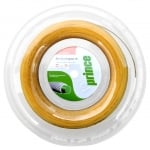 PRINCE - SYNTHETIC GUT ORIGINAL 16 - White/Gold Classic Tennis String 100 meters Reel