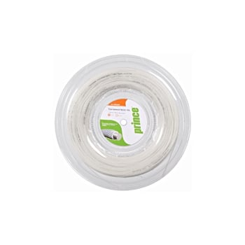 PRINCE - TOURNAMENT NYLON - White Classic Tennis String 200 meters Reel