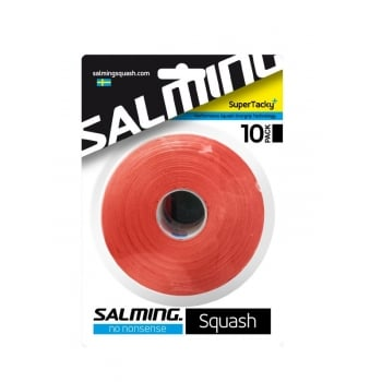 SALMING Squash SuperTacky 10 Pack Overgrip