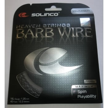 SOLINCO Barb Wire 16L/1.25mm Black