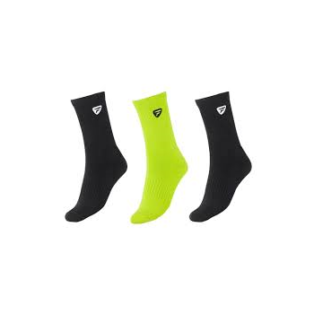 TECNIFIBRE TF Socks Men (2 Black, 1 Green)