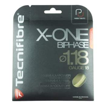 TECNIFIBRE X-One-BIPHASE Tennis String Set