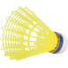 VICTOR 2000 GOLD NYLON BADMINTON SHUTTLES (YELLOW/WHITE)