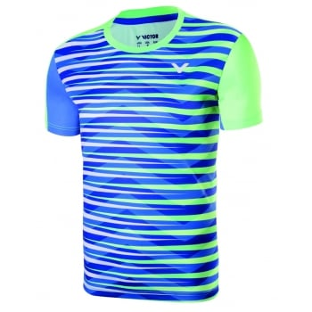 VICTOR Badminton T-shirt: 2017 World Championships South Korean Men Badminton Jersey,Victor T-75002 O
