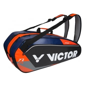 VICTOR Doublethermobag BR7209 Orange - 6 Rackets Badminton Bag