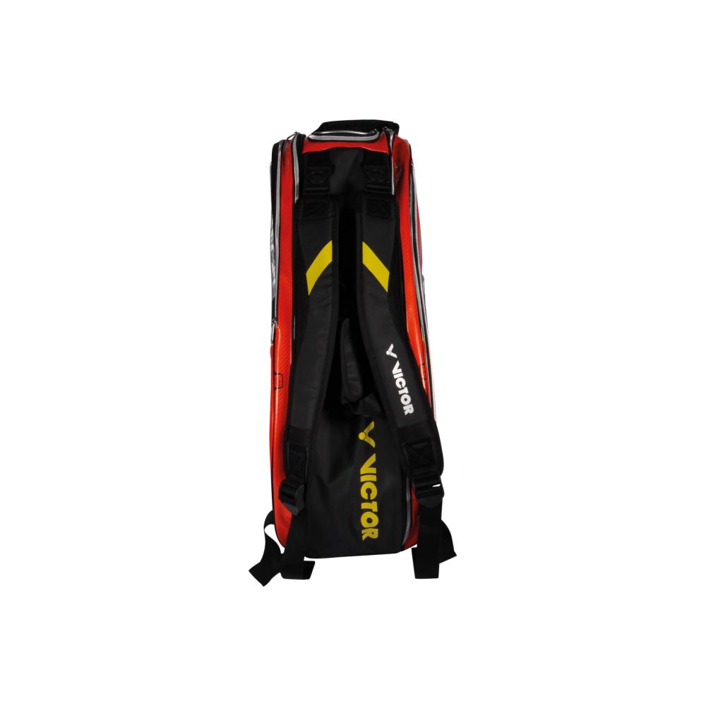 842f646b9a ... VICTOR Doublethermobag BR9207 Orange - 6 Rackets Badminton Bag ...