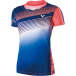 VICTOR - Female 2017 Malaysian National Team Blue T-Shirt 6337 - Badminton Apparel