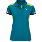VICTOR - Female Polo Shirt Petrol 6687 - 2017/2018 Series Badminton Apparel