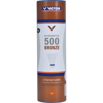 VICTOR - Nylonshuttle 500 Bronze - White