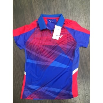 VICTOR - Perfect Dry Female Malaysian Team Polo Shirt S-6104QF - Badminton Apparel