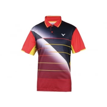 VICTOR - Perfect Dry Unisex Korean National Team Polo Shirt 6001DB - Badminton Apparel