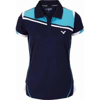 VICTOR Polo Function Female blue 6986