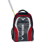 VICTOR - RUCKSACK 9107 - RED/GREY 100% Polyester Badminton Bag