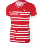 Victor Shirt Denmark Female red/white 6618