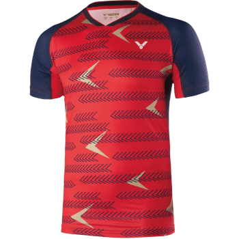 VICTOR Shirt International Unisex Red 6639