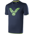Victor - T-Shirt Blue 6477 - Perfect Dry Unisex Badminton Clothing