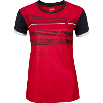 VICTOR T-Shirt Function Female red 6079 red, black