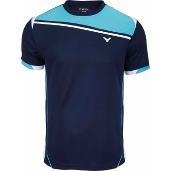 VICTOR T-Shirt Function Unisex Blue 6966 - Badminton Apparel