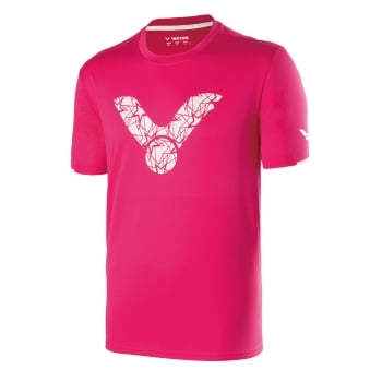 VICTOR - Tshirt T-70026 Q - Unisex Badminton Tee with Perfect Dry Technology