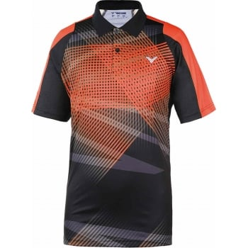 VICTOR - Unisex Malaysian Team Orange Polo Shirt 6176 - Badminton Apparel