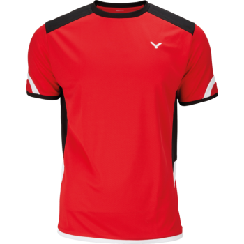 VICTOR - Unisex Red Function T-Shirt 6737 - Badminton Sportswear